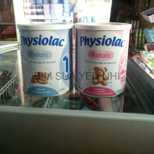 [Lẻ giá sỉ] Sữa physiolac số 1,2 400g .