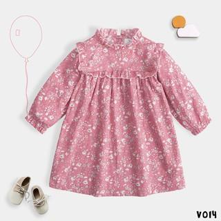 Váy Cho Bẻ Gái Hoạ Tiết Hoa 2 Màu Xinh Xắn BELLO LAND thumbnail