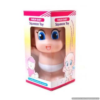 Đồ chơi nhựa mềm có còi Squeeze Toy Farlin nhập từ Đài Loan