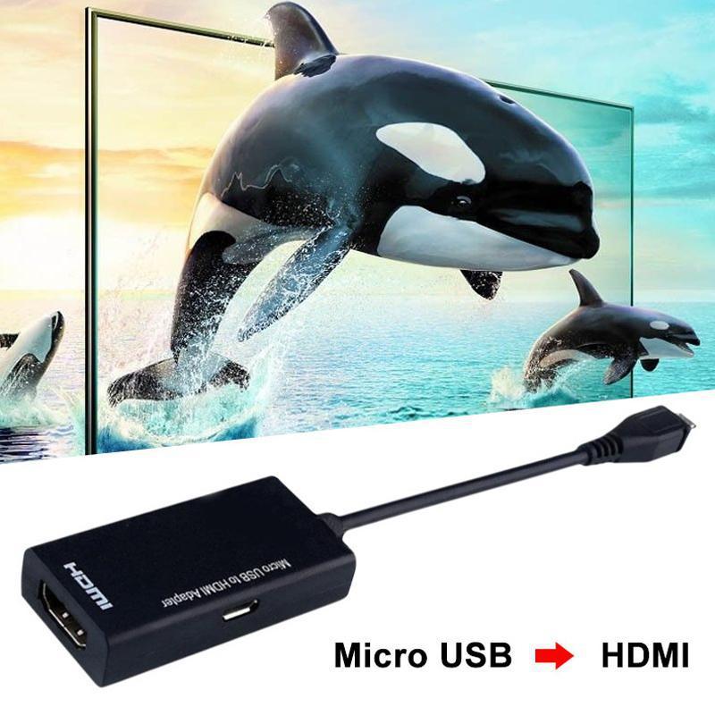 Dây Cáp Chuyển Đổi 1080p 60hz Micro Usb Sang Hdmi Adaptadores Cho Android