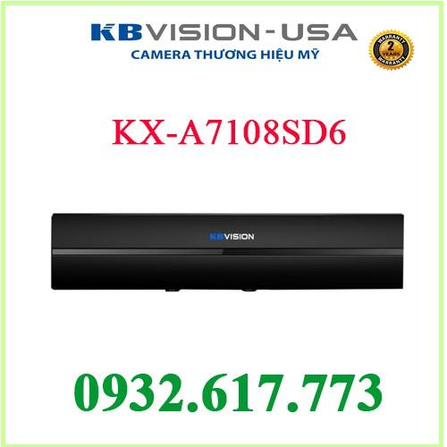 ĐẦU GHI HÌNH KBVISION KX-A7108SD6 8 Kênh ( 5in 1)