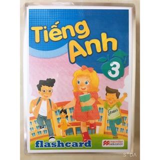 FLASHCARD TIẾNG ANH LỚP 3- ép plastic cho bé