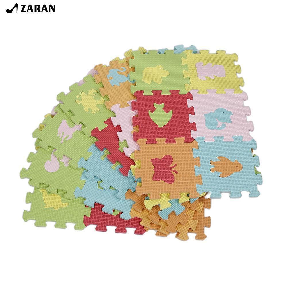 Non-slip Soft Eva Foam Game Mats Children DIY Puzzle 36PCS Animal Models ★ARAN