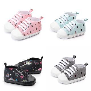 Giày tập đi em bé, hoạ tiết dễ thương cho bé Giày tập đi cho bé thumbnail