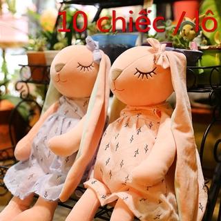 10 chiếc / lô Dễ thương và độc đáo thỏ tai dài nhồi bông đồ chơi trẻ em món quà sinh nhật