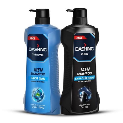 Dầu Gội Sạch Gàu, cho tóc chắc khỏe Cho Nam Giới Dashing Dynamic Men Shampoo 650g