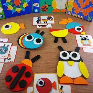 Montessori Fun Board- bảng ghép hình thông minh cho bé