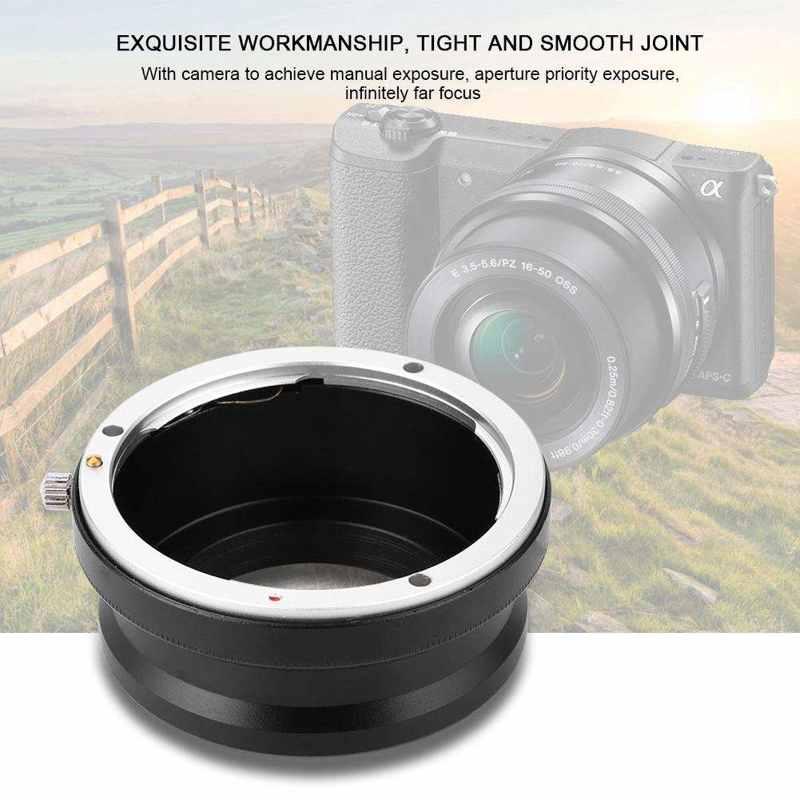 Vòng Chuyển Đổi Ống Kính Eos-Nex Bằng Kim Loại Chuyên Dụng Cho Máy Ảnh Canon Eos Sony Nex
