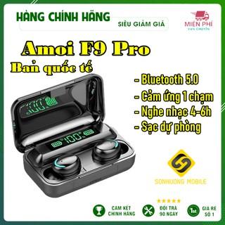 Tai nghe Bluetooth True Wireless Amoi F9-5 PRO V5.0 cảm ứng vân tay