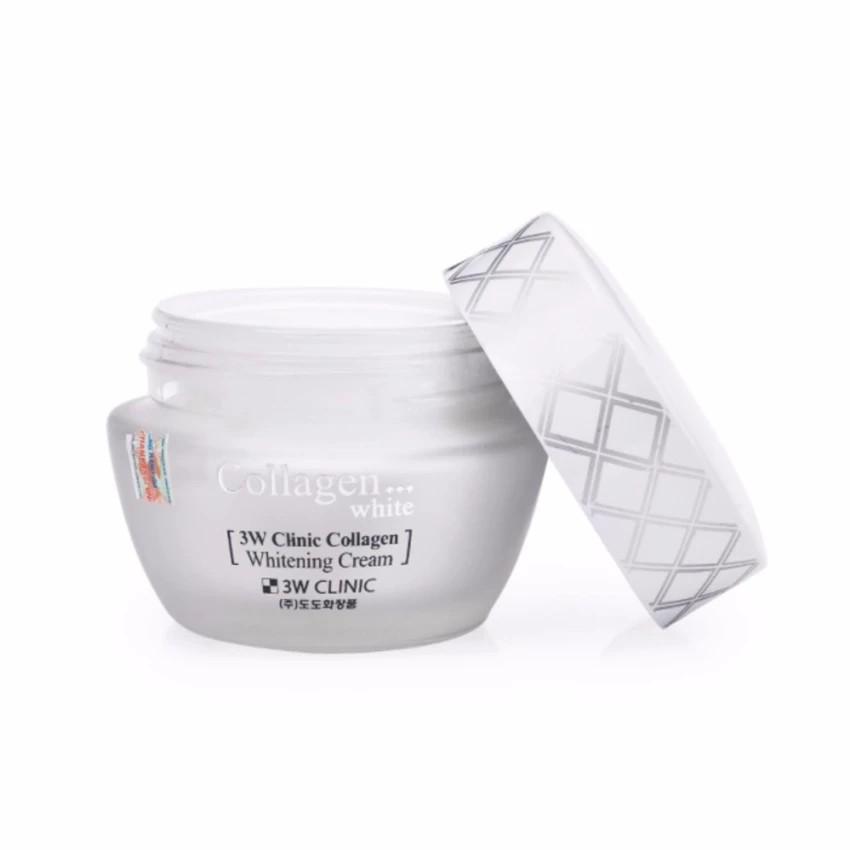 Kem dưỡng trắng da bổ sung collagen 3W CLinic Collagen Whitening Cream 60ml