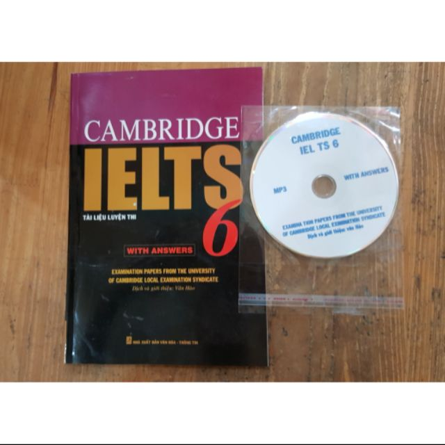 Sách Cambridge IELTS Tập 6 - 2504955 , 1052815588 , 322_1052815588 , 75000 , Sach-Cambridge-IELTS-Tap-6-322_1052815588 , shopee.vn , Sách Cambridge IELTS Tập 6