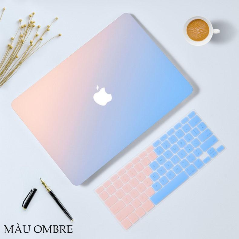 Ốp + Phủ Phím Macbook Màu Ombre (Tặng kèm Nt chống bụi) Giá chỉ 299.000₫
