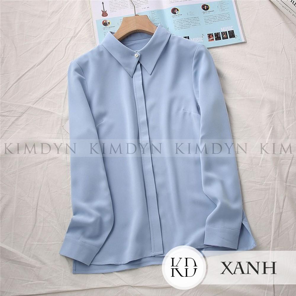 Áo sơ mi nữ áo sơ mi công sở áo sơ mi kiểu 2020 [KDASM02]