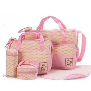 Bộ túi xách 5 món dã ngoại cùng gia đình bé thumbnail