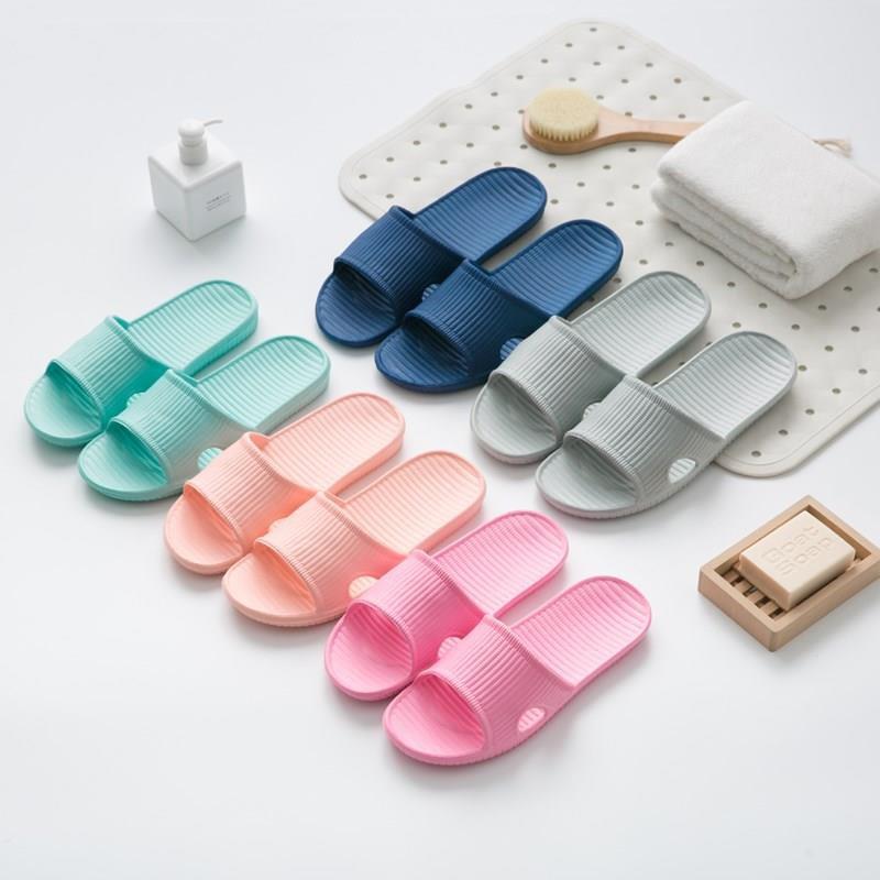 dép nữ nam đi trong nhà dép lê chống trơn có thể đi trong nhà tắm vệ sinh làm bằng nhựa nguyên khối đủ size đủ màu đẹp