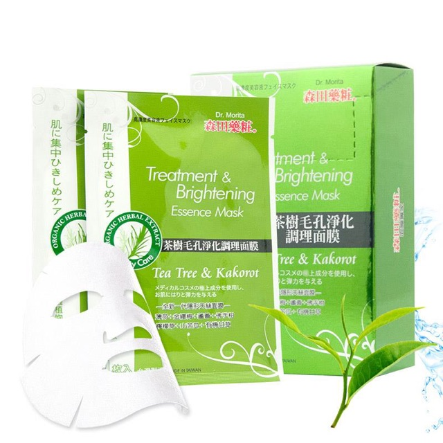 Dr.Morita Tea Tree & Kakarot | Shopee Việt Nam