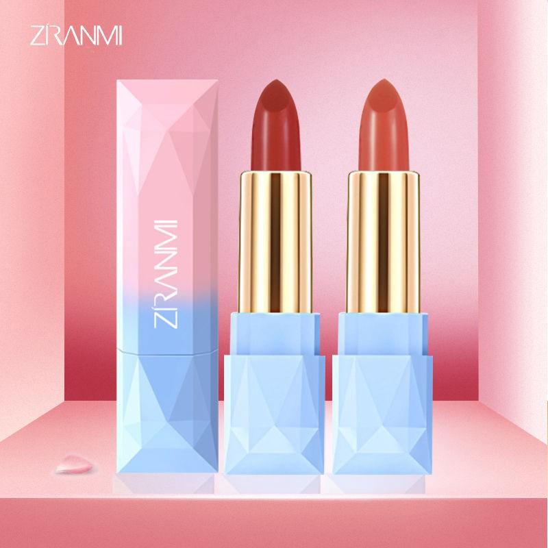 [Mã FSS12DEC giảm 20% đơn từ 0K]Son lì ZIRANMI kháng nước 8 màu tùy chọn thời trang