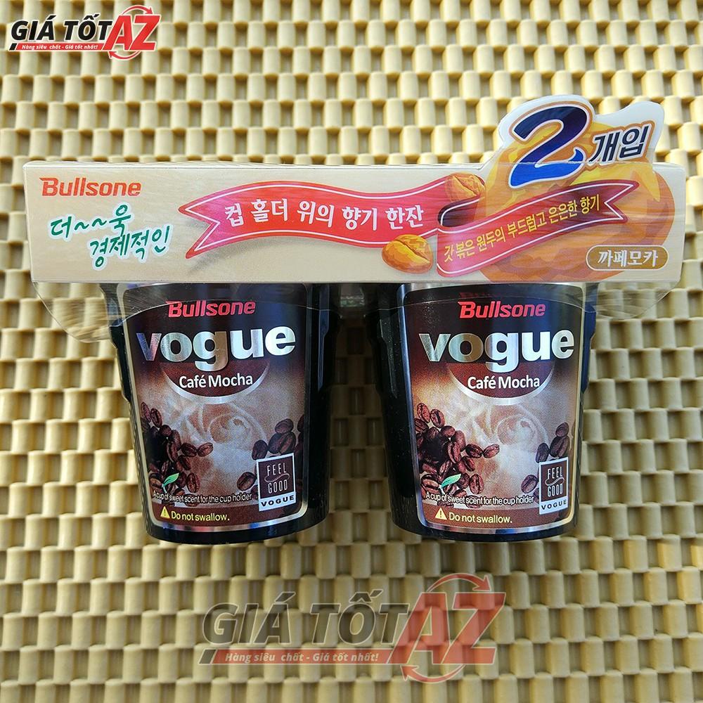 Bộ 2 hộp sáp thơm Cafe khử mùi ô tô Hàn Quốc cao cấp BULLSONE - CAFE MOCHA