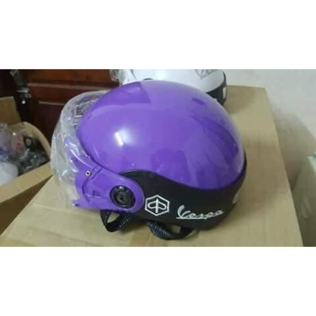 Mũ bảo hiểm vecpa - 2775933 , 1253019399 , 322_1253019399 , 120000 , Mu-bao-hiem-vecpa-322_1253019399 , shopee.vn , Mũ bảo hiểm vecpa