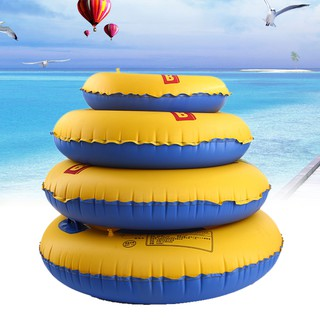 Adult Children Summer Inflatable Double color Swim Ring Swimming Pool Boardw IGKS