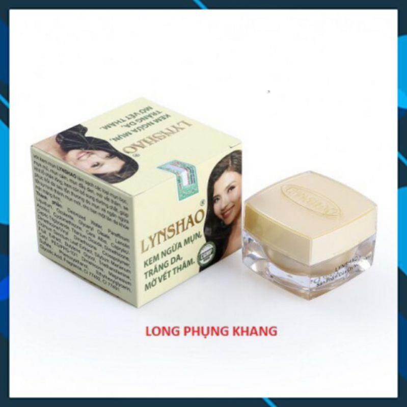 Sản Phẩm Kem ngừa mụn, trắng da, mờ vết thâm LYNSHAO 12g đủ giấy công bố giá rẻ
