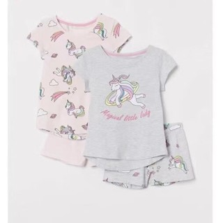 Bộ hình ngựa unicorn pony cho bé gái