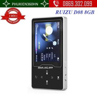 Máy nghe nhạc MP3 RUIZU D08 8GB thumbnail