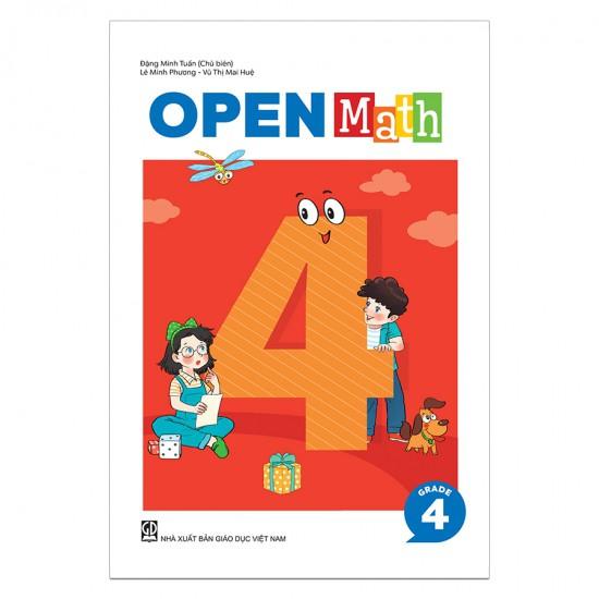 [Mã BMHOT07 giảm 15% đơn 99k] Sách Toán Tiếng Anh OpenMath Lớp 4