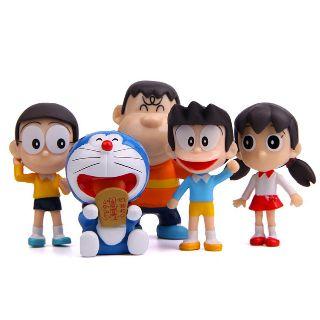 Bộ 5 nhân vật hoạt hình Doraemon
