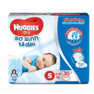 Tã Dán Huggies Dry Newborn S30 miếng thumbnail