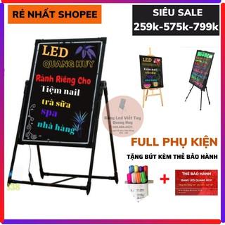 [Xả Kho]Bảng LED Huỳnh Quang ❤️FREESHIP❤️Bảng LED Dạ Quang 50*70 và 60*80 Full Phụ Kiện +Thẻ Bảo Hành 12 tháng