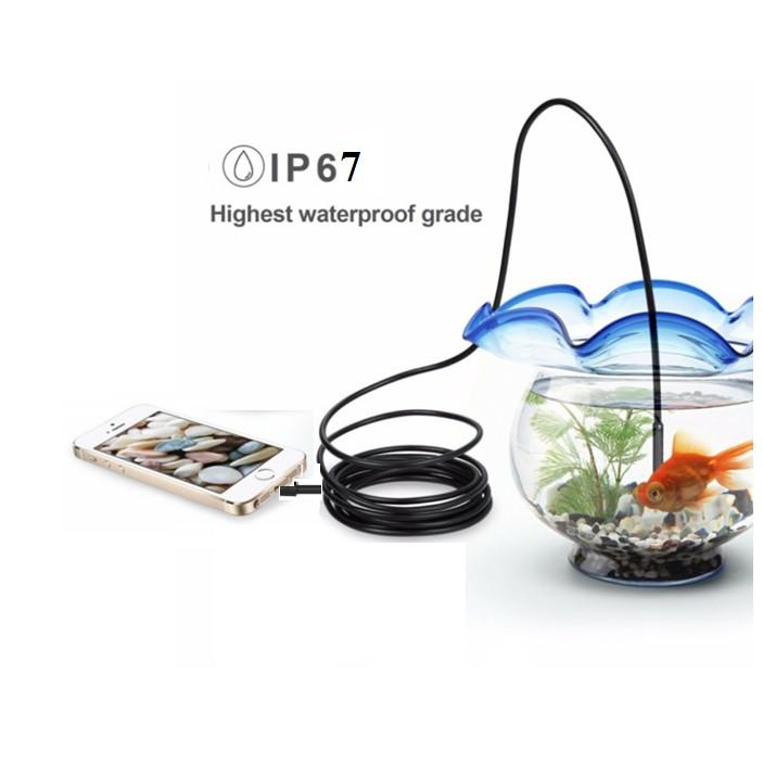 Camera nội soi DÂY CÁP CỨNG siêu nhỏ 5.5mm chống nước(IP67) cho Máy tính và Điện thoại - 2979292 , 865558503 , 322_865558503 , 299000 , Camera-noi-soi-DAY-CAP-CUNG-sieu-nho-5.5mm-chong-nuocIP67-cho-May-tinh-va-Dien-thoai-322_865558503 , shopee.vn , Camera nội soi DÂY CÁP CỨNG siêu nhỏ 5.5mm chống nước(IP67) cho Máy tính và Điện thoại