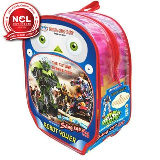 Đồ chơi xếp hình trẻ em Nhựa Chợ Lớn 23 – M1030-LR