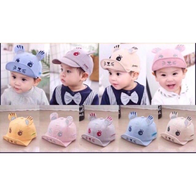 Mũ mèo cho bé - 2682685 , 1011444478 , 322_1011444478 , 55000 , Mu-meo-cho-be-322_1011444478 , shopee.vn , Mũ mèo cho bé