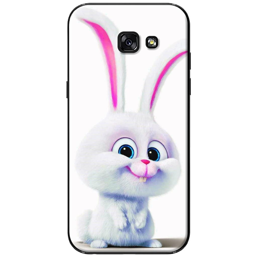 Ốp lưng Samsung A3/A5/A7 (2017) - nhựa dẻo Thỏ mặt phởn
