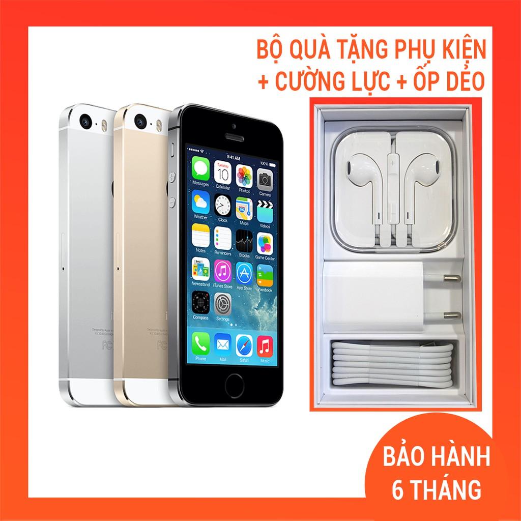 Điện thoại Iphone 5s 16G- Iphone cũ phiên bản QUỐC TẾ Like New 99%