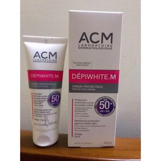 [TEM CHÍNH HÃNG] Kem chống nắng cho da có vấn đề săsc tố ACM Depiwhite M Protective SPF50+ thumbnail