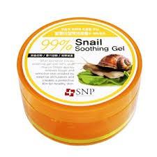 Gel dưỡng ẩm chiết xuất ốc sên SNP Snail 99% Soothing Gel
