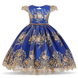 Đầm Công Chúa NNJXD Tutu Phối Ren Dành Cho Bé Gái 4-10 Tuổi Mặc Trong Tiệc Sinh Nhật