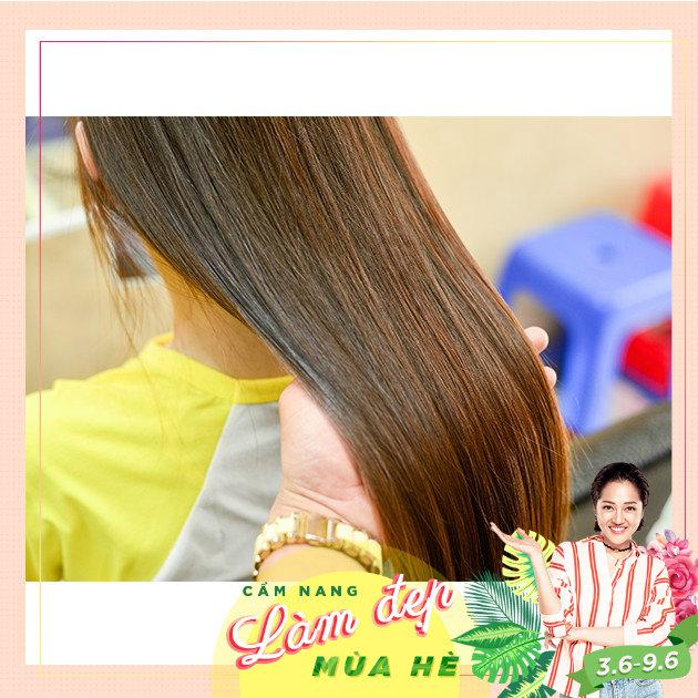Hồ Chí Minh [Voucher] - Gói Uốn Duỗi Nhuộm Bấm tóc Cắt Gội Sấy Tặng 01 lần hấp dầu tại Bin Bin Sa