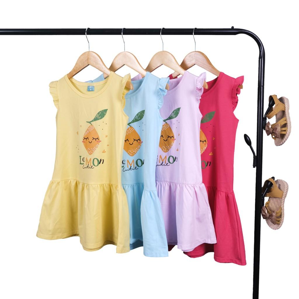 Đầm Bé Gái❤️100% COTTON 4C ❤️ Váy Bé Gái Sẵn size 6-12 - 1260