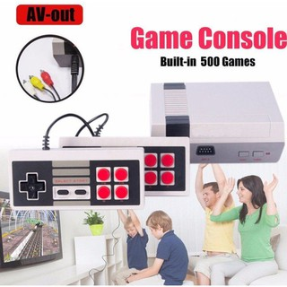 GB Classic Mini Family Game Consoles Built-in 500 TV Video Game Dual