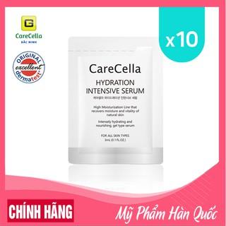 [Gói nhỏ 3mL] Tinh chất dưỡng trắng da mặt CareCella – dưỡng ẩm và dưỡng chất Hydration Intensive Serum
