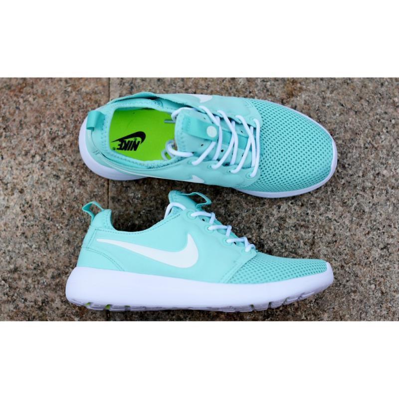 <BR> รองเท้ากีฬา Nike Roshe Two V2 รองเท้าวิ่งมิ้นต์สีขาว