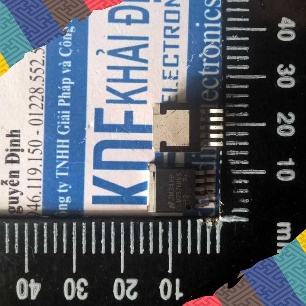 [Giá Rẻ] 2 con LM2576HVS-12 TO263-5 IC NGUỒN ỔN ÁP XUNG KDE1333 Giá Rẻ.