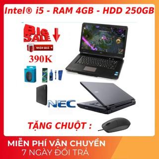 Laptop nhập khẩu cpu intel chay bền chơi game, bán hàng, thiết kế đồ họa, siêu mượt thumbnail