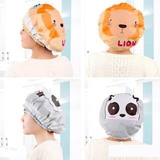 Mũ trùm đầu khi tắm - chống nước - màu ngẫu nhiên - MŨ001 - hình 4