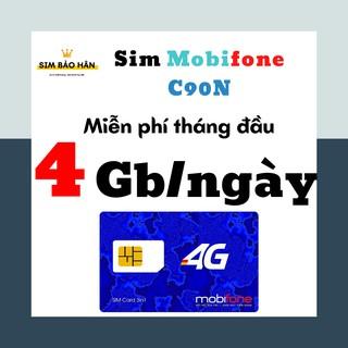 Sim 4G mobi 4G/ngày- C90N [CHÍNH HÃNG]/ sim data tốc độ cao nghe gọi không giới hạn – SIMBAOHAN