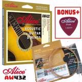 Bộ Hộp 6 Dây Đàn Ghi-ta Acoustic Alice-A-432 Cao Cấp