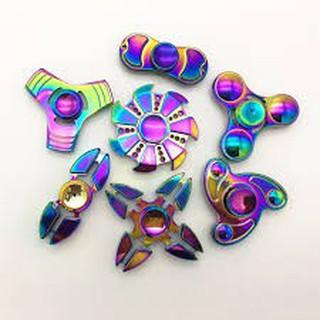 Con quay đồ chơi Spinner bằng kim loại cao cấp, nhiều màu, giúp giảm stress |shopee. VnShopdenledz